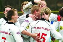 Hráči FK Apos Blansko.