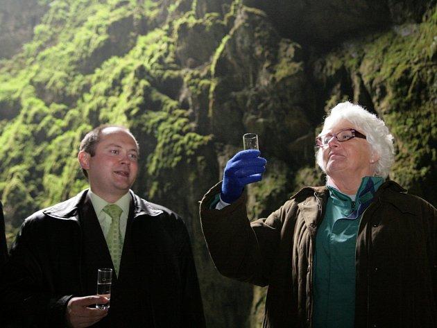 vském Do Punkevních jeskyní v Morakrasu zavítala politická delegace ministrů Evropské Unie