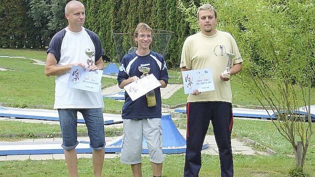 Ředitel blanenského turnaje Radek Šebela (vpravo).