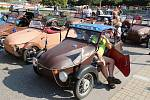 V centru Blanska se konal 28. sraz vozidel Velorex.