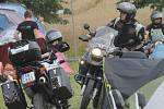 Voděrady ovládl od pátku do neděle Motosraz KilianGang. Už počtvrté. Motorkáři vybrali na charitu přes sto padesát tisíc korun. Výtěže předali čtyřem rodinám dětí, které trpí mozkovou obrnou.