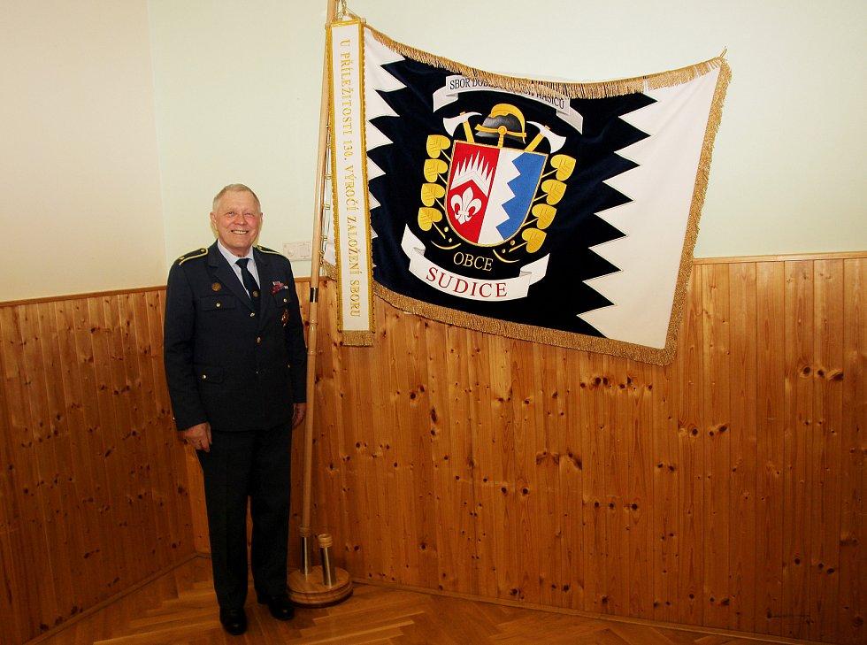 Zasloužilý hasič Antonín Špidlík.
