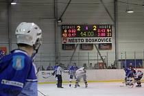 Hokejisté Boskovic vyhráli v krajské lize s Blanskem tři derby v řadě. Naposledy prohráli v sezoně 2008/2009 s VSK Technikou Blansko 3:5 a 1:7.