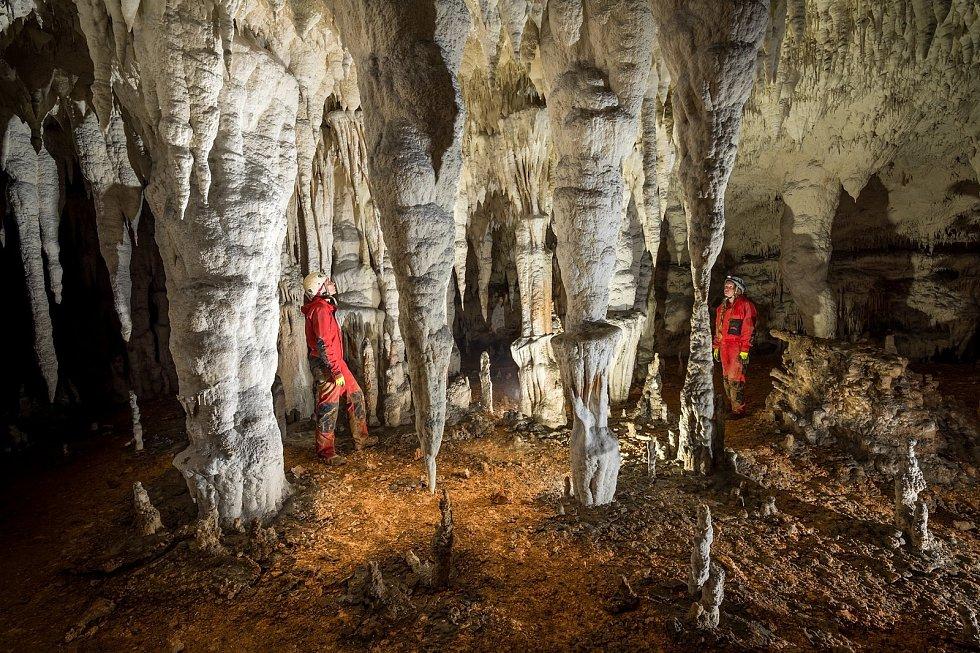 Jeskyně systému Ušačky v Srbsku.