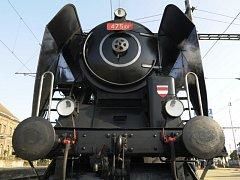 Oslava dne železnice v brně.