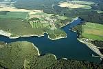 Vodní nádrž Boskovice. Ilustrační foto.