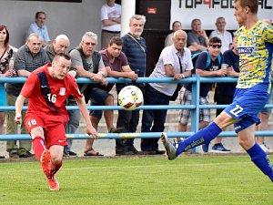 V utkání D skupiny Moravskoslezské divize prohráli fotbalisté FK Blansko doma s MSK Břeclav 1:2