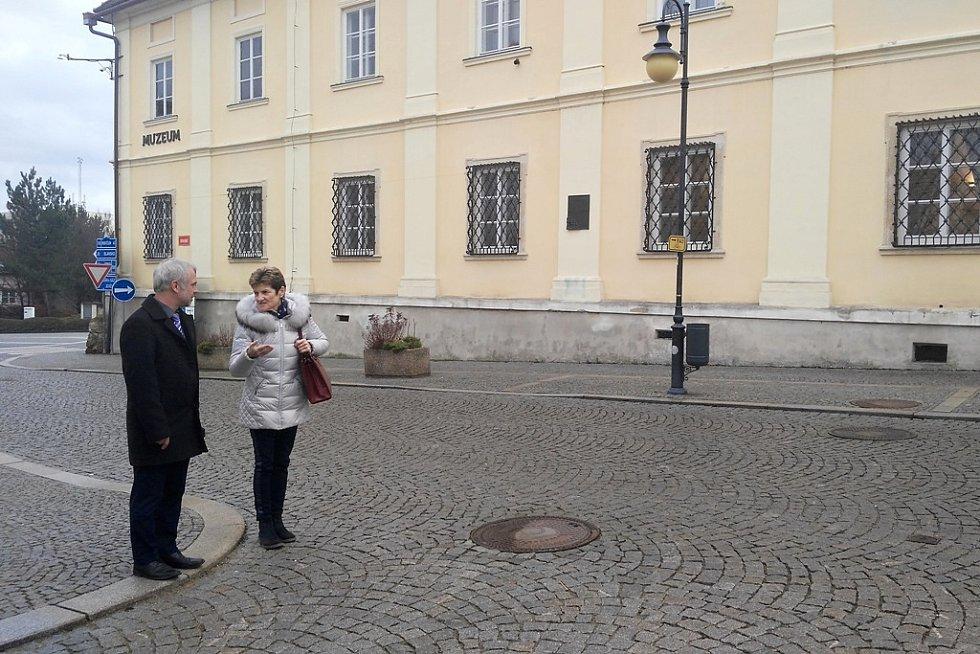 Návštěva Boskovic.