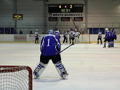Boskovičtí hokejisté vyhráli krajskou ligu.