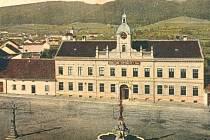Blanenská radnice v roce 1907.