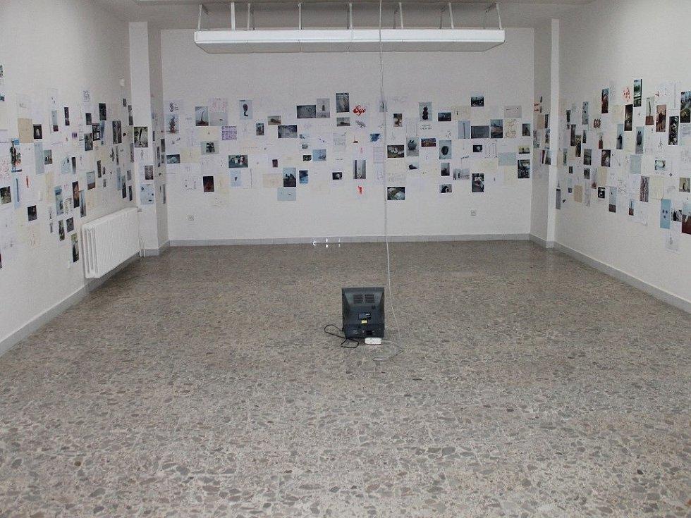 Výstava Krištofa Kintery v Galerii města Blanska.