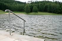 Blanenská přehrada Palava.