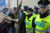 Zemědělci z Blanenska vyrazili protestovat do Prahy