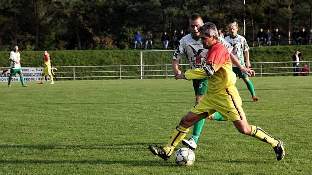 Fotbalisté Rájce remizovali s Lipovcem 0:0.
