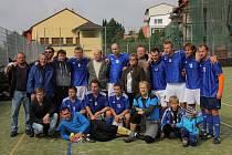 První tým 1. Italcars ligy v malé kopané Sadros Boskovice.