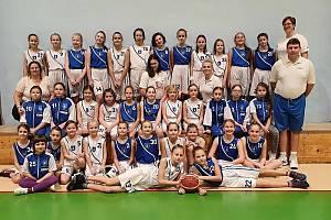 Blanenské basketbalistky cvičí online, už se těší na společné tréninky po uvolnění omezení.