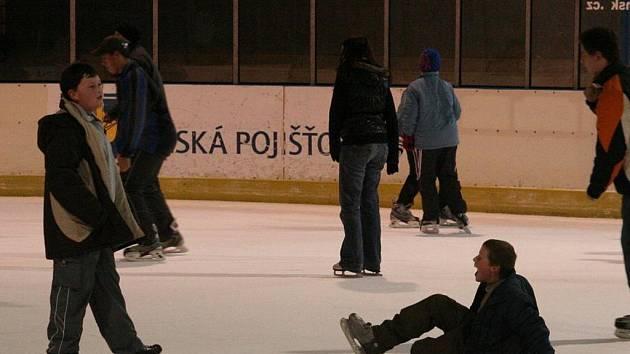 Zimní stadion v Blansku.