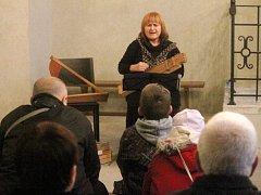 V boskovické synagoze zněly balady Sefardských Židů. V podání Hany Sar Blochové.