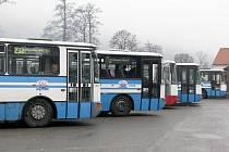 Autobusy ČAD Blansko.