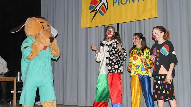Pionýrská skupina Boskovice pořádala ve čtvrtek tradiční akci Vítání nového roku pro hendikepované děti.