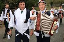Hodové veselí v Šebrově-Kateřině.