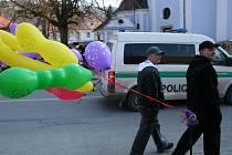 Sloup slavil svůj největší svátek. Tradiční Květný pátek přilákal davy lidí i stánkařů, jednu ze slavnostních mší celebroval brněnský biskup Vojtěch Cikrle.
