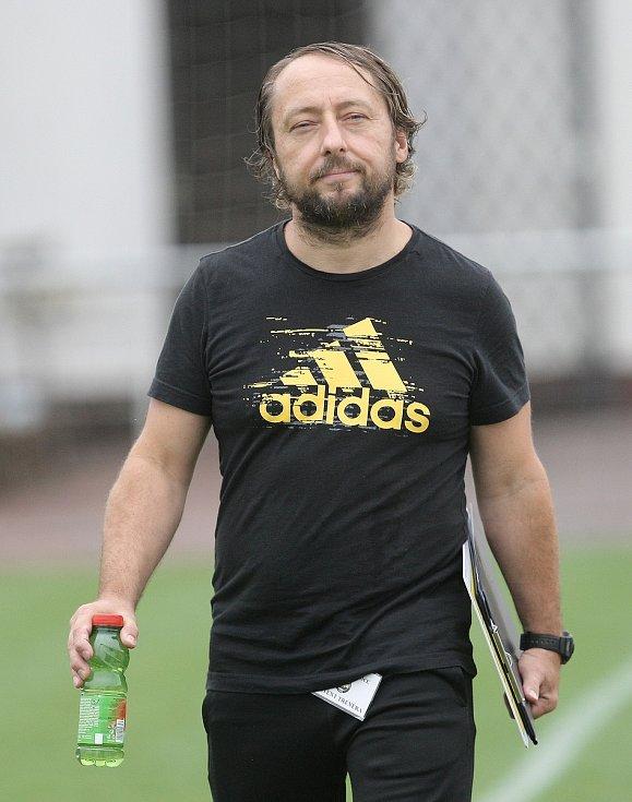 Rosický kouč Michal Kugler.