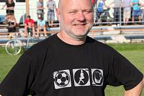 Trenér fotbalistů Kunštátu Petr Loukota.