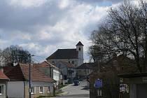 Kostel svatého Bartoloměje ve Žďárné.