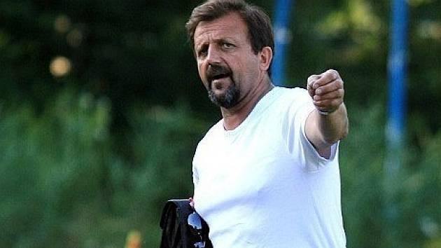 Bývalý trenér Ráječka Lubomír Zapletal.