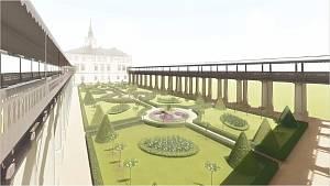 Na zámku v Lysicích začala obnova tamní zahrady za 179 milionů korun.