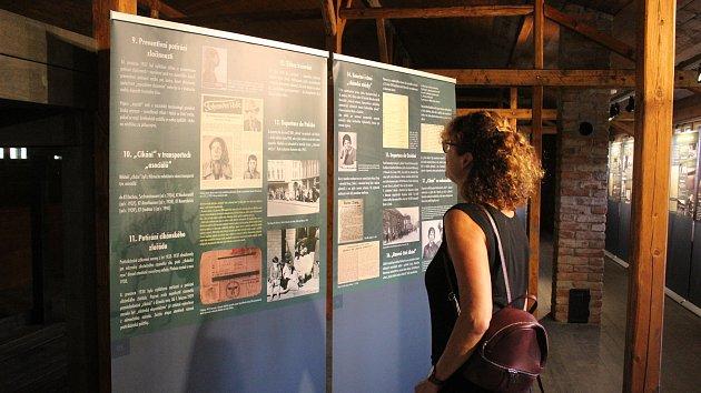 Do Památníku holokaustu Romů a Sintů nedaleko Hodonína na Blanensku se podívají první návštěvníci.