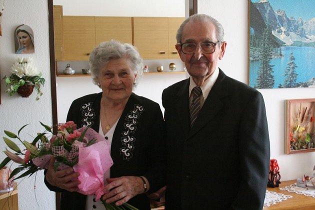 Ludmila a Pavel Michenkovi - 70. let manželského života