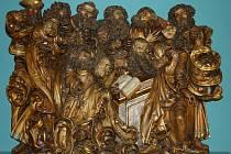 Část světelského oltáře z adamovského kostela svaté Barbory putuje po výstavách v Evropě. Na podzim ji viděli turisté na výstavě Fantastické světy ve Städel Museu v německém Frankfurtu nad Mohanem. Nyní se výstava přesunula do Vídně.