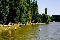 Rybník Olšovec v Jedovnicích