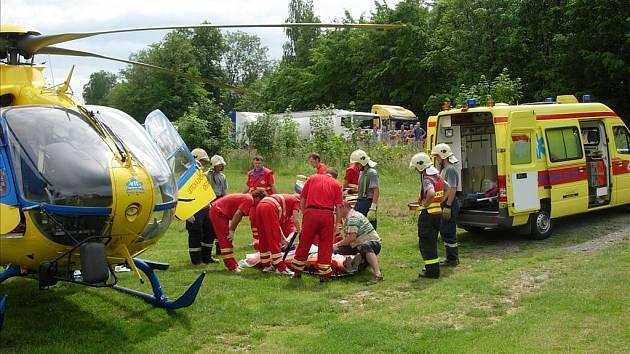Záchranáři. Ilustrační foto