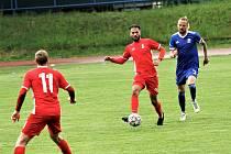 Fotbalisté Blanska remizovali v duelu s Vyšehradem.