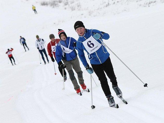 """Kořeneckou lyži ovládly """"arktické mrazy""""."""