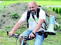 Ředitel Vysočanského triatlonu Zdeněk Přibyl.