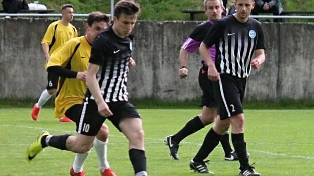 Fotbalisté Svratky Brno prohráli ve 20. kole I. A třídy - skupiny A s Kunštátem 1:2.