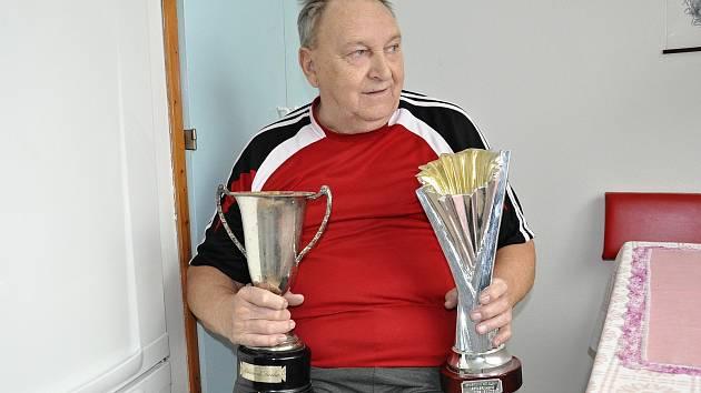 Basketbalista František Pokorný.