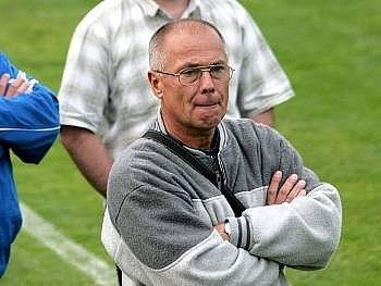 Kouč FK Blansko Jiří Hajský.