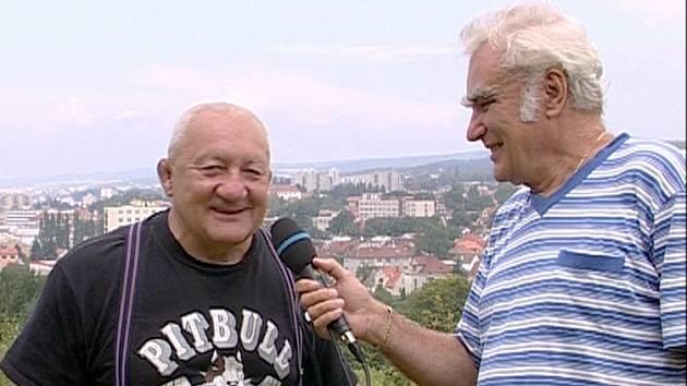 Jaroslam Parma (na snímku vpravo se Zdeňkem Srstkou).