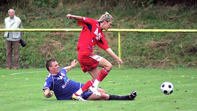 Fotbal Apos Blansko. Ilustrační foto
