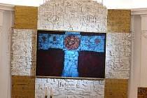 Jedinečný oltářní obraz pro jedovnický kostel zhotovil Mikuláš Medek.