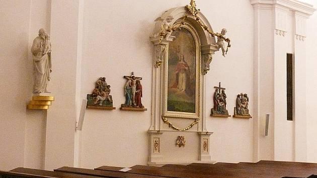 Jedovnický kostel.