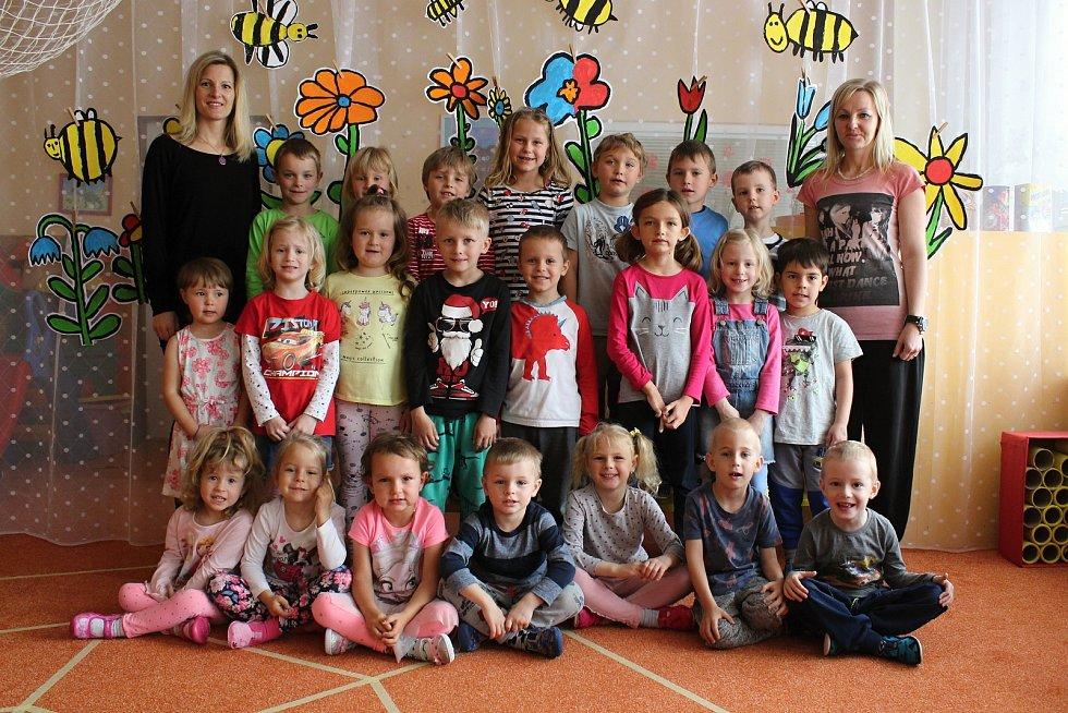 Děti ze třídy Berušky z Mateřské školy Komenského Letovice.