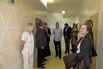 První patro dětského oddělení v boskovické nemocnici prošlo rekonstrukcí.