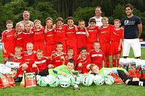 Mladí fotbalsité FK Blansko vyhráli boskovický turnaj a postupují do republikového finále.