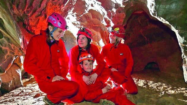 Podzemní stezka v Bertalánce slibuje rodinám dobrodružství.